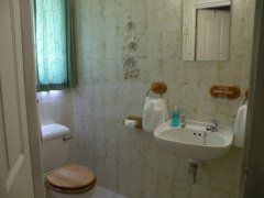 Acadia B&B Room 2 - Bathroom, accommodation in Plettenberg Bay